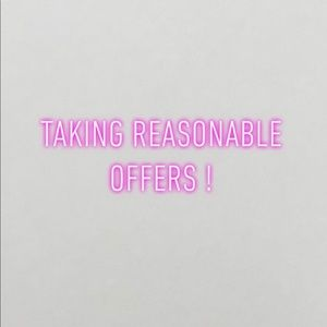 Other - Taking reasonable offers!